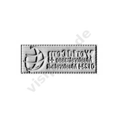 Ersatzplatte Colop Pocket Stamp 20}