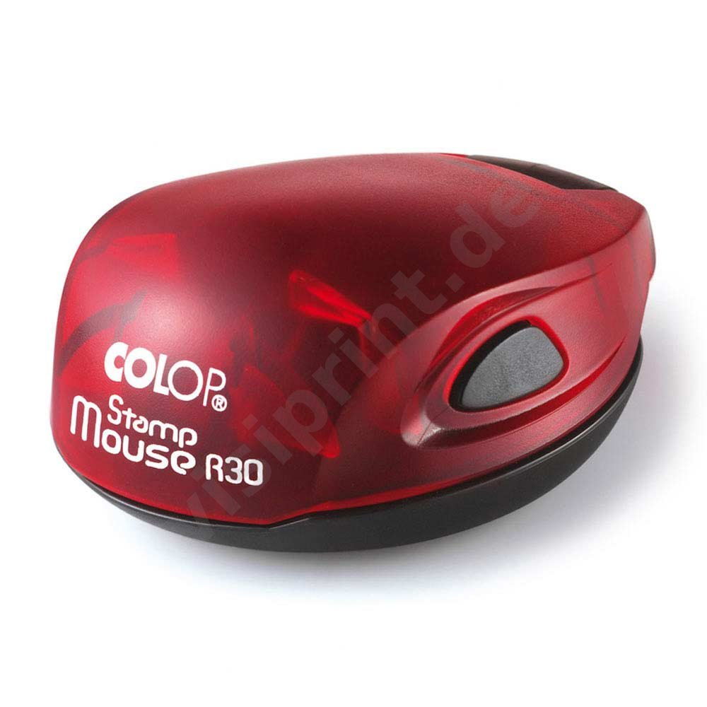 Colop Stamp Mouse 30 rund rot
